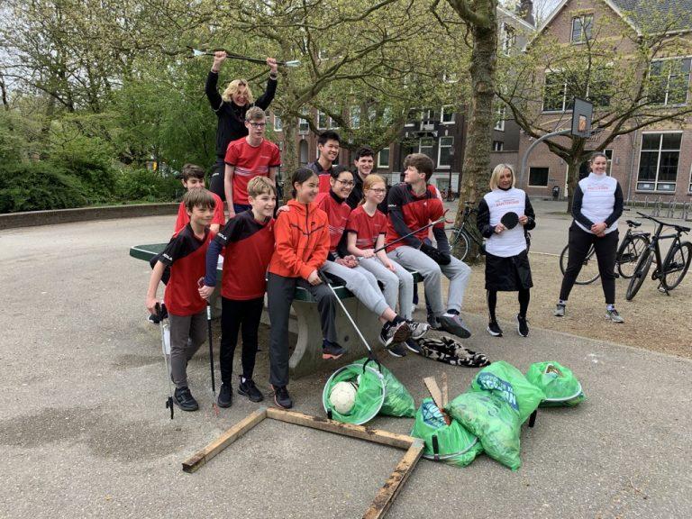 Lees meer over het artikel TTV Amsterdam helps cleaning up Amsterdam